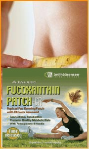 FucoXanthin Patch is the easy, safe and effective way to diet with a conveinent skin patch